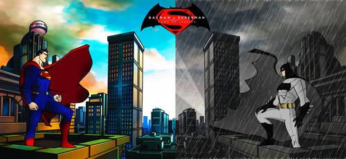 Batman V Superman: DOJ Jim Lee/JLU Style by Alexbadass