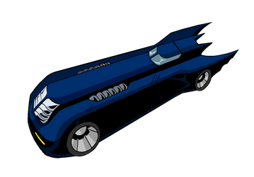 Batman: TAS Batmobile by Alexbadass