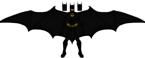 Old Michael Keaton Batman by Alexbadass