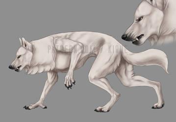Commission: Werewolf/Skinwalker by Kique-N