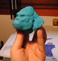Gorilla quicky by maryarts