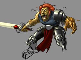 Thundercats, Lion-O by wedgeismyhero