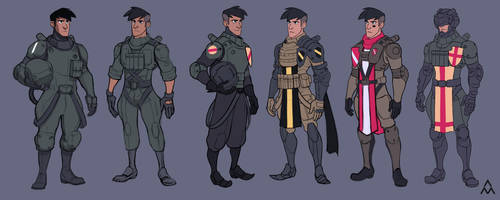 Pilot Uniform Exploration by wedgeismyhero