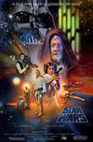 Star Wars Movie Poster by Elswyse