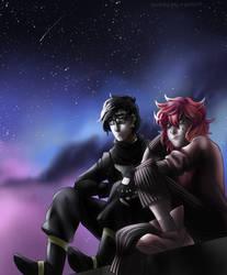 [BNhA OCs] Starry night by YourDigitalAquarium