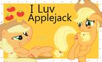 I love applejack stamp by Xxsparkle-rosexX