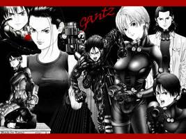 Gantz fan by Koonz