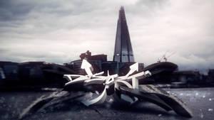 Distort 3D Graffiti by IamCRAAZE