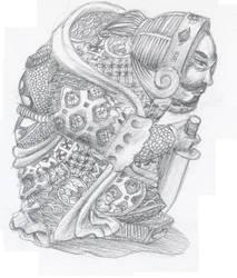 Warrior Monk by tallguy59