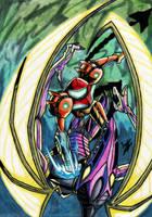 Meta Ridley Battle by Twinkie5000