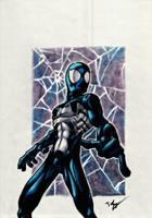 Symbiote Spidey by Twinkie5000