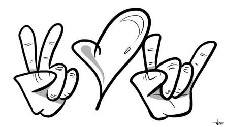Peace Love and Rakenrol by wap711