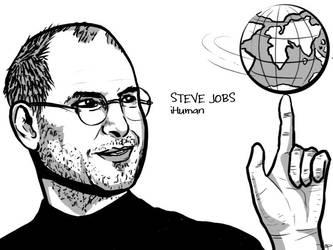 Steve Jobs by wap711