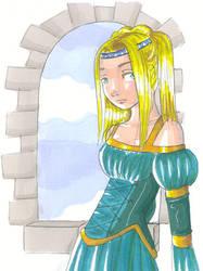 medieval girl by Serafina-Malfoy