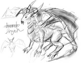 Dragon by windydarian
