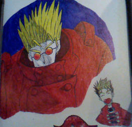 Vash Zwipes Doodle by BailzNErDyGEEK