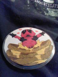 Deadpool Button by BailzNErDyGEEK