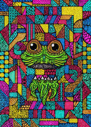 Blackbook - Hover Frog by Loggaa