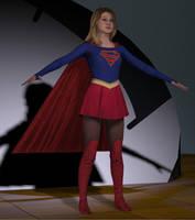 Supergirl Tv Melissa Benoist by Gustvoc