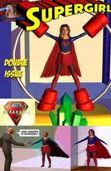 Supergirl in Danger Double Issue by Gustvoc