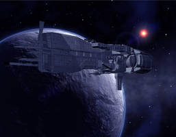 U.S.S. SULACO From ALIENS by Gustvoc