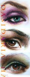 Eyes practice by dasidaria-art