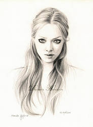 Amanda Seyfried drawing by dasidaria-art