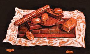 Chocolate by dasidaria-art