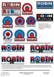 ROBIN - Games Expo Logo Concepts by matt-adlard