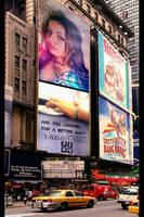 NYC BILLBOARD'S by kintosh