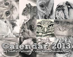 Calendar 2013 by th3blackhalo
