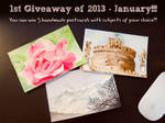 FB Giveaway January 2013 by th3blackhalo
