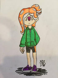Autumn The Cyclops Octoling by PieRiteYT