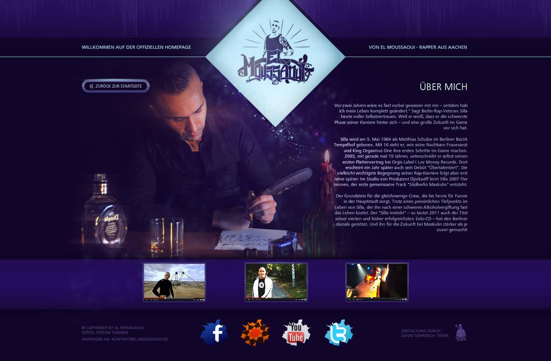 Official El Moussoui Homepage [MoTrip-Bruder] by termi1992