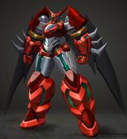 Shin getter robo by Yangyoonyoung