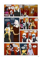 Under-Upper AU: Ch5 Page 1 by MichPajamaArtist