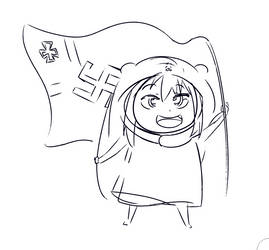 Umaru Heils Hitler by Banned-from-Lotf2