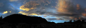 Sunset of Blue - Panorama by GavinAsh