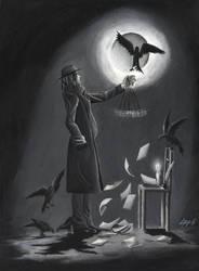 The Poet and The Pendulum by ZennithVanFalkon