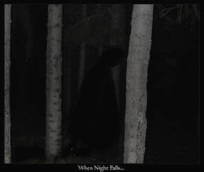 when night.. by Ravenhearted by knovelaers