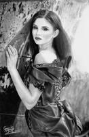 Ana Maria Ilinca drawing 8 by caiusaugustus