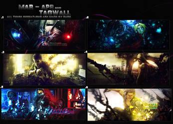 Apr - Mar Tagwall by Rage-Sama-5