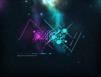 Glowing Style Typo .. by Rage-Sama-5