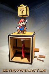 Mario Coin Automata Papercraft by kamibox