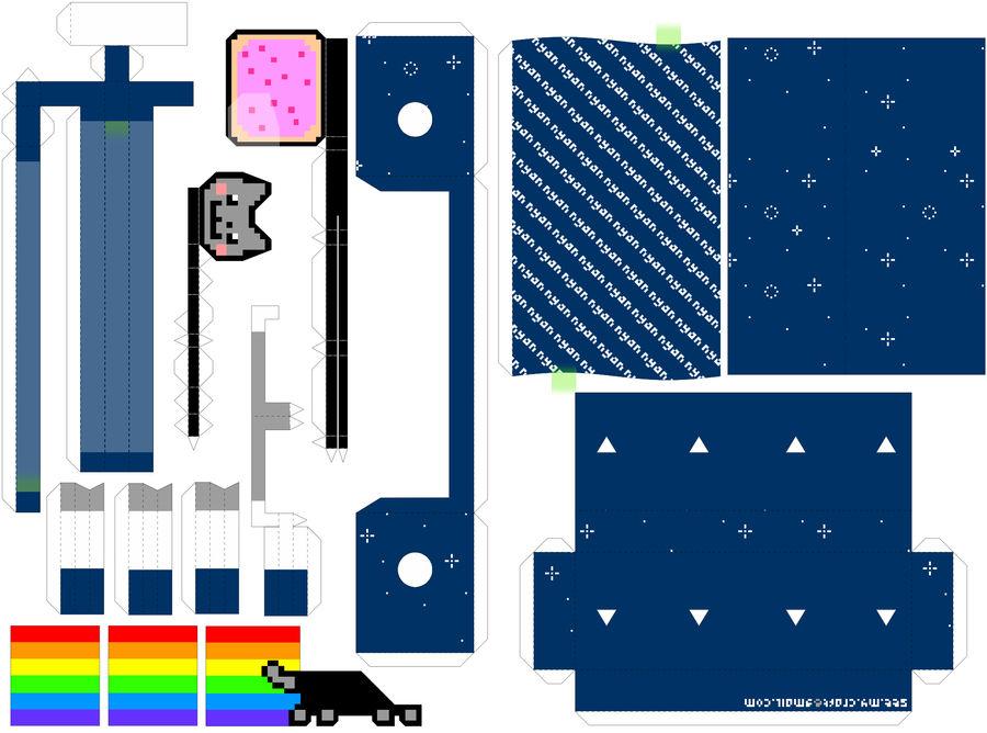 Nyan Cat Machine -Instructions by kamibox