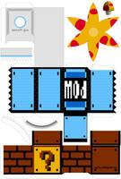 POW-Block Papercraft PRO Vers. by kamibox