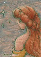 Star Gazers: Belle - ACEO by XKimmaiX