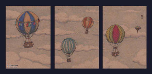 Colours on the Breeze: ATC by XKimmaiX