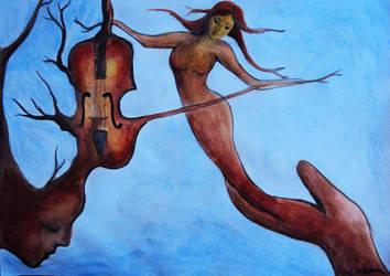Violin by silviaene