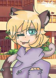 An Anime Boy....Neko boy  by ZemiQueDAfox